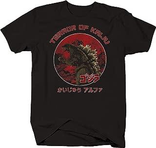 Terror of Kaiju Distressed Godzilla Rampage Through Japan Tshirt