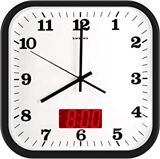 Best extra large square wall clocks Reviews