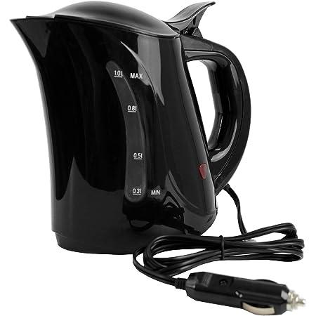 Hervidor eléctrico 1 litro / 24V / cocina de camping cocina de viaje camión barco