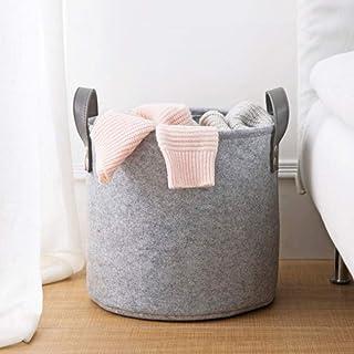 Boîte de rangement en feutre panier de rangement maison rangement panier de rangement multifonctionnel vêtements sales sac...
