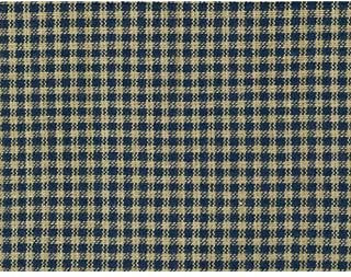 Heritage Navy Blue 2 Homespun Cotton Plaid Fabric by JCS - Sold by The Yard