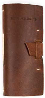 Leather Hunting Log Book Designed for Hunters, Record...