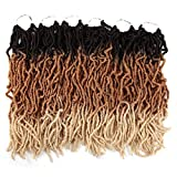FASHION IDOL Nu Faux Locs Crochet Hair 18 Inch...