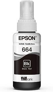 Epson T664120 EcoTank Black Ink Bottle