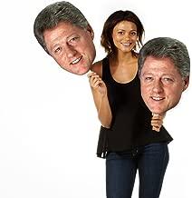 Single Pack Build A Head Bill Clinton Big Heads Cardboard Face Cutout