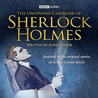 The Unopened Casebook of Sherlock Holmes audiobook cover art