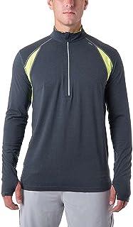 tasc Performance Men's at tech Fitness Running 1/2-zip Pullover Shirt