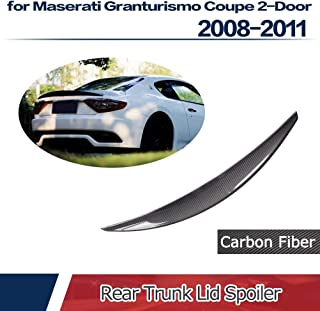 YXYNB Glossy Black Car Rear Roof Spoiler Wing Refit For M4 Style High Kick Trunk Lid Spoiler Fits For Bmw 3 Series E90 M3 2006-2011