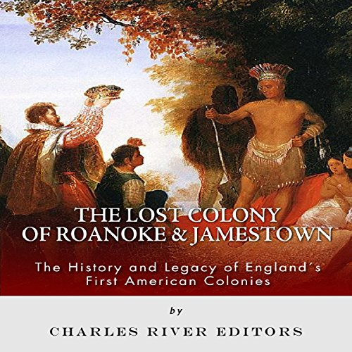 The Lost Colony of Roanoke and Jamestown audiobook cover art