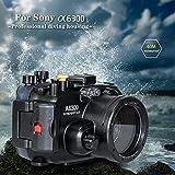 Arandelas de mar para cámara submarina Sony A6300 A6400 Sumergible...