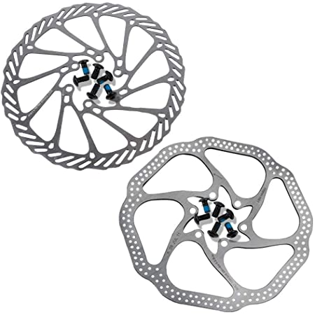 Bicycle Disc Brake Rotor Bike Disc Brake Rotors with Bolts 160mm//180mm for MTB Mountain Road Bike