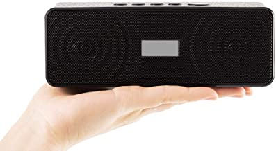 ERLIANG Portable Bluetooth Speaker Mini Wireless Bluetooth Speaker Dual Speaker Stereo Car Bluetooth Subwoofer photo
