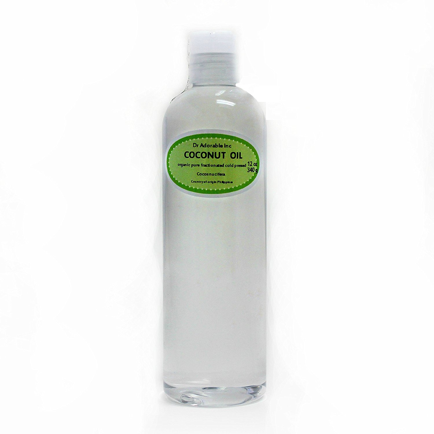 Fractionated Coconut Oil Pure Max 72% OFF Organic New mail order Oz Dr.Adorable by 12 Raw