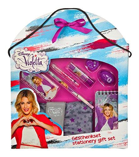 Undercover VIAE2230 - Disney Violetta Geschenkset, 8-teilig, grau