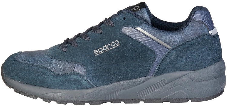 Sparco shoes Basse Sneakers men blue (LEYBURN)