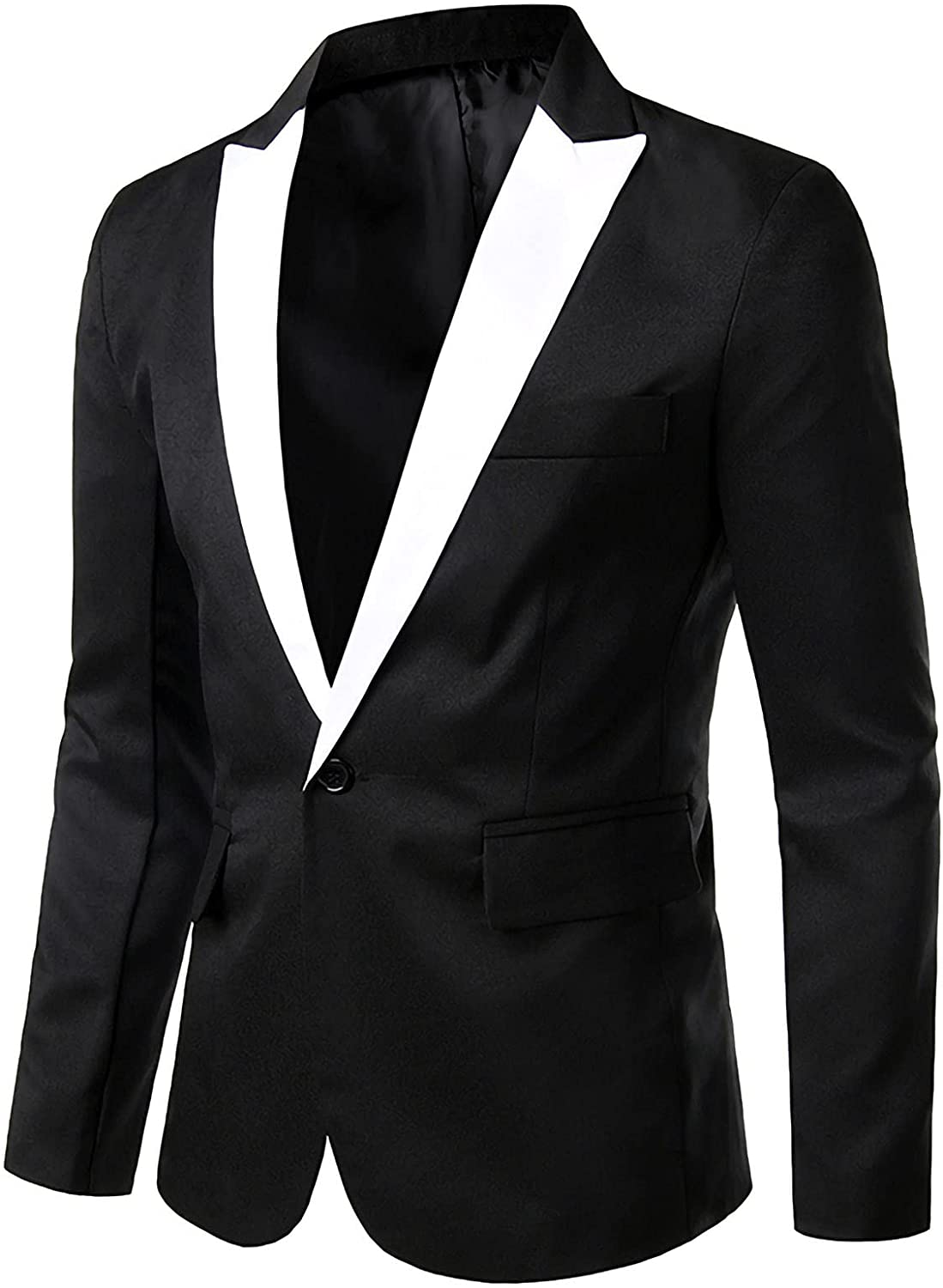 Premium Suit for Men's Fashion Business Blazer England Style Slim Casual Single Breasted Youth Formal Coat Jacket
