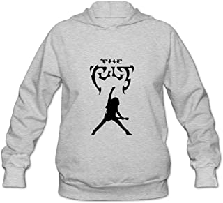 The Cult Gig Poster Billy Duffy Women's Hooded Sweatshirt