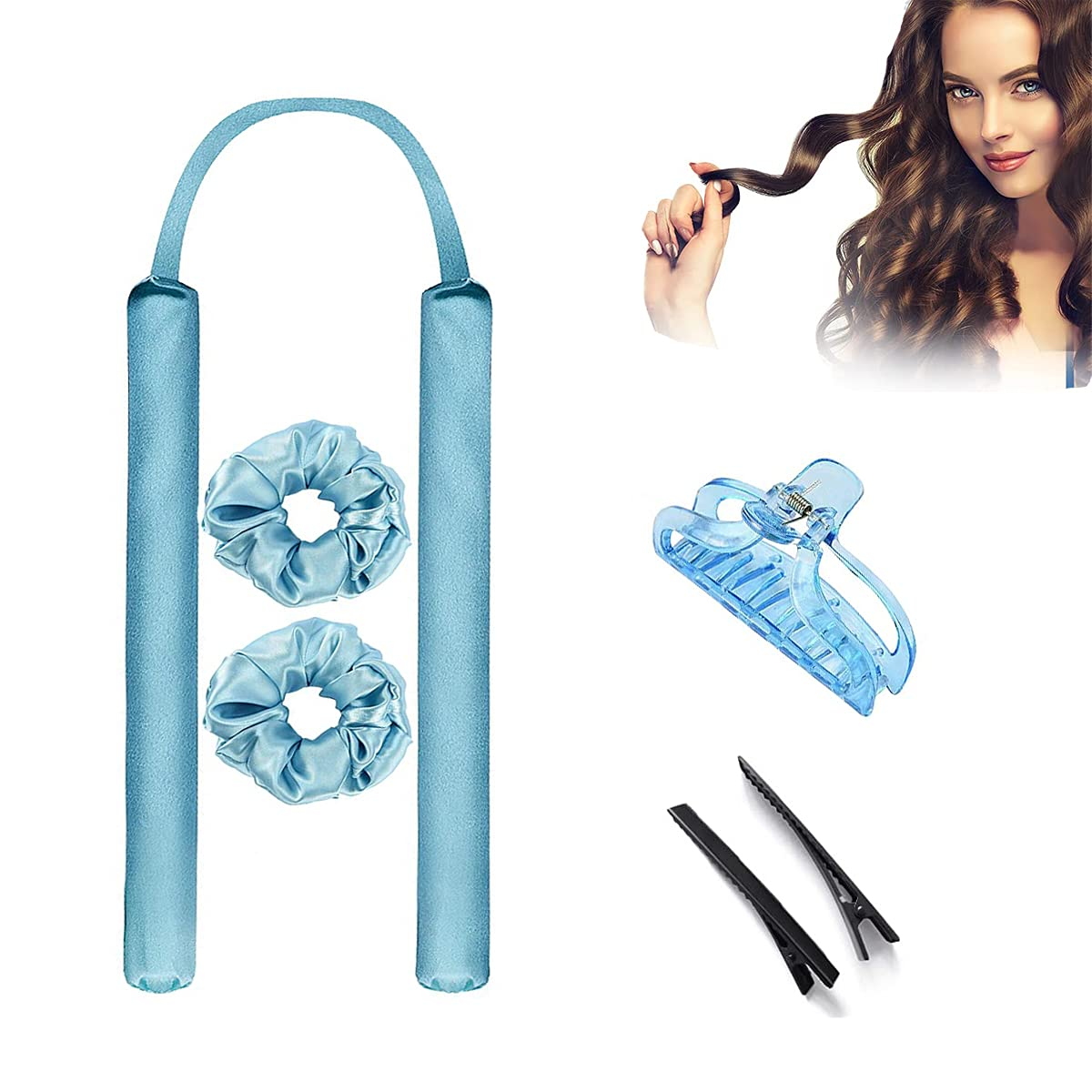 Upgrade Heatless Curling Rod Hair Ranking New Shipping Free Shipping TOP10 Curlers Lazy Headband