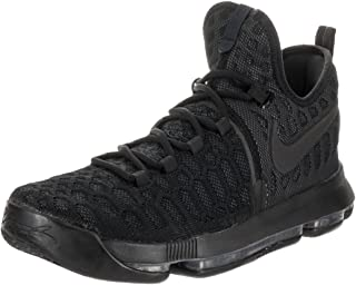 detailed look 16349 0eac1 Nike Mens Zoom KD 9 Black Anthracite Synthetic Size 14