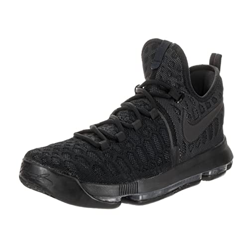 Nike Men s Zoom KD 9 Basketball Shoe (Black Black Anthracite) 33a469c1b7ce