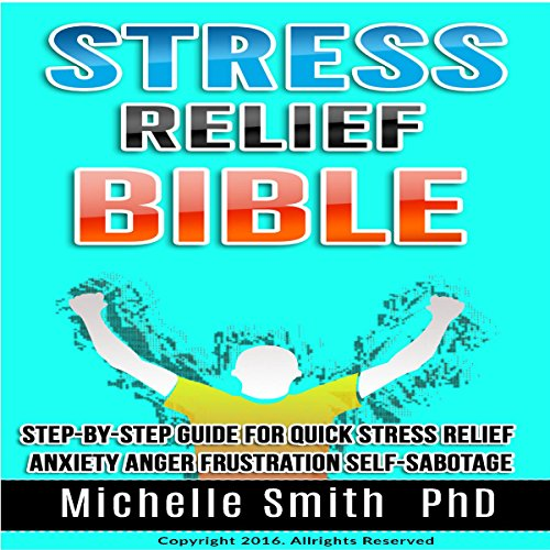Stress Relief Bible audiobook cover art