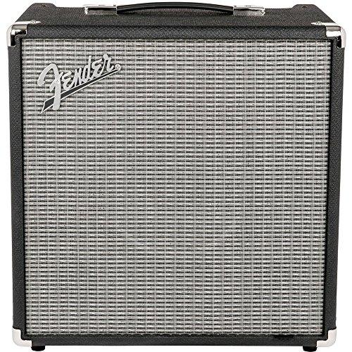 Fender 237-0306-900 Rumble 40 Bass Combo Amp V3, Black/Silver