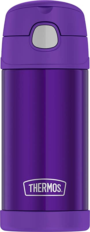 Thermos F4016VI6 12 Ounce Stainless Steel FUNtainer Bottle Violet