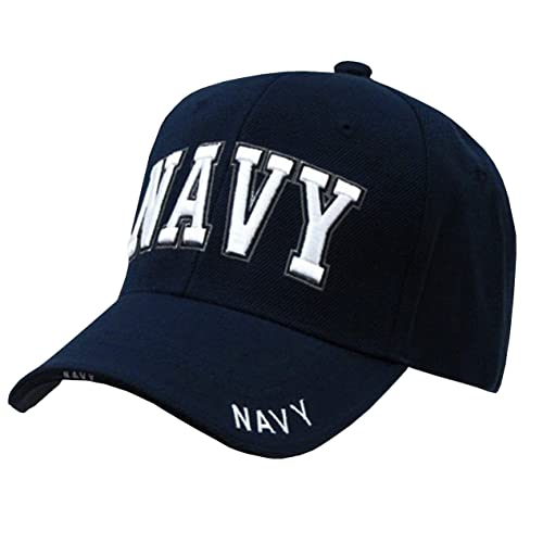 Rapid Dominance US Navy Text Embroidered High Crown Military Baseball Cap  Hat 3fe5d4cab6c8