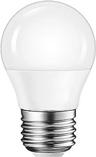 MUNDDY - Bombilla LED casquillo Grande Esférica E27, 3W 4W 5W 6W 7W 8W 9W, Blanco frío 6000K,Blanco Cálido 3000K [Clase de eficiencia energética A+] (3000k Blanco Cálido, 6W (Casquillo Grande))
