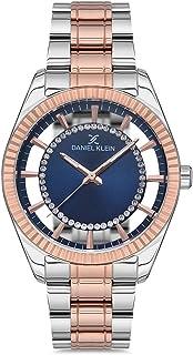 Daniel Klein Premium Ladies - Blue Dial Multicolor Band Watch - DK.1.12547-5