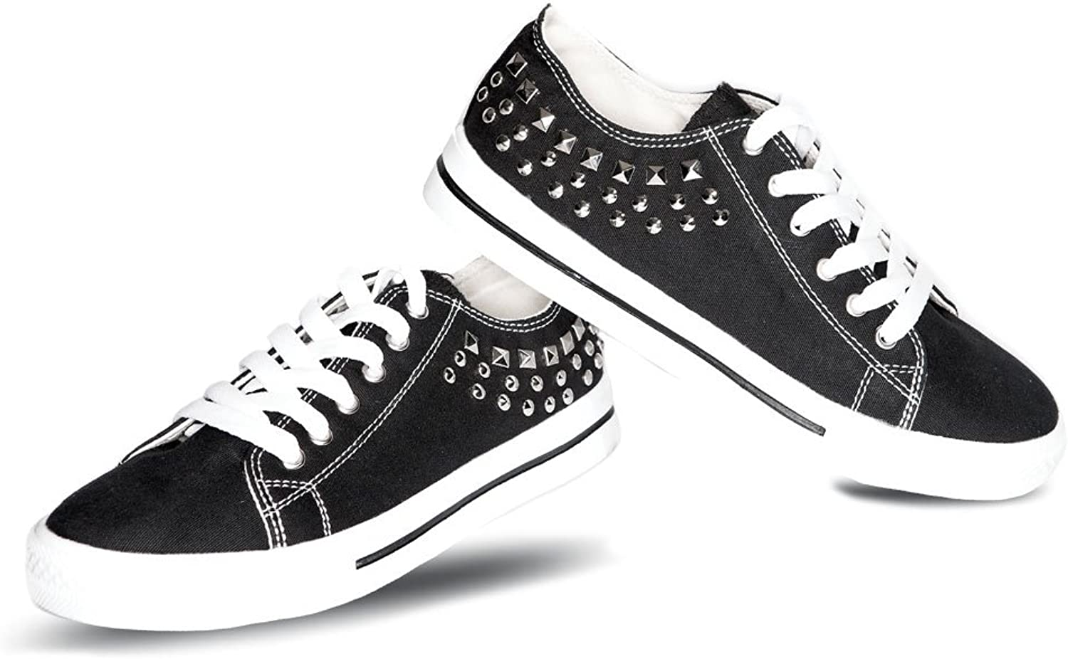 Gia Mia Studded Lowtop Womens Sneakers