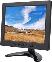 Wendry Monitor portátil, Pantalla de computadora, Pantalla pequeña de 8 Pulgadas 1024x768 IPS Pantalla Suave HD Video para HDMI/VGA/BNC/AV(UE)