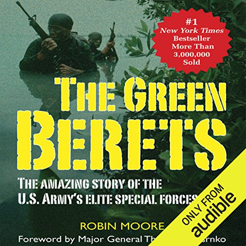 The Green Berets audiobook cover art