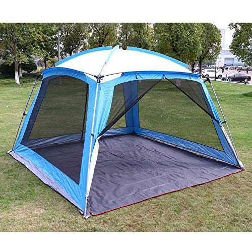 LLSS 33m Garden Gazebo with Insect Mesh Sides,Heavy Duty Gazebo Waterproof Tent Party Pavilion Barbecue with A Zipped Door