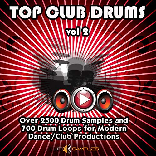 Top Club Drums Vol.2 - Más de 2500 muestras de batería fresca y 700 loops de batería | WAV Files (24Bit) Download