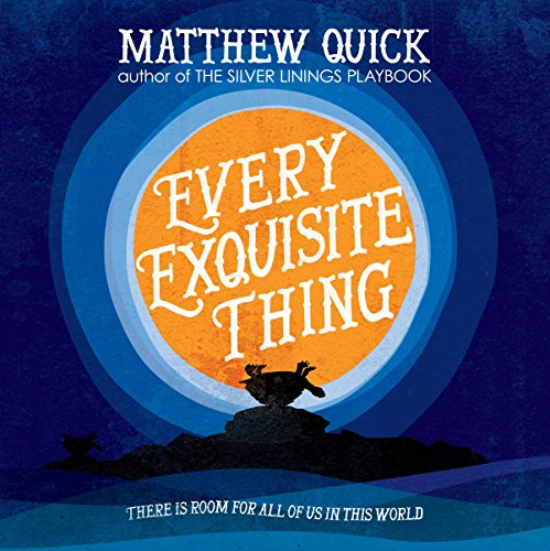 Every Exquisite Thing audiobook cover art
