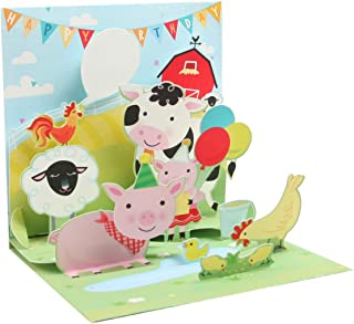 Up With Paper Treasures - FARM BIRTHDAY