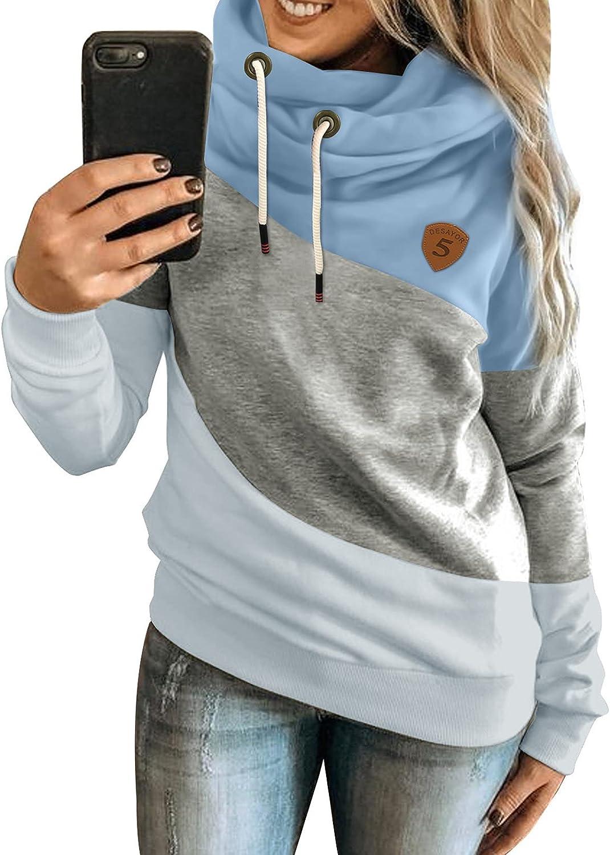Acelitt Womens Hoodie Sweatshirts Casual Sleeve Tunic Long Tops At the Boston Mall price