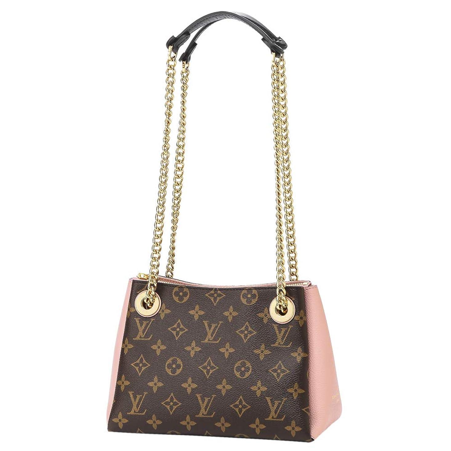 郡女王マーカールイヴィトン(Louis Vuitton) ハンドバッグ M43777 モノグラム ブラウン 茶/ピンク [並行輸入品]