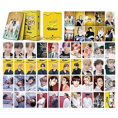 Kpop BTS Lomo Tarjetas 54pcs BTS Butter Album Cards BTS Butter Bantan Boys Postales...