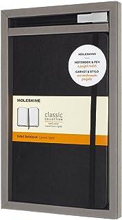 Conjunto Caderno e Caneta, Moleskine, Preto