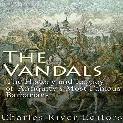 The Vandals audiobook cover art