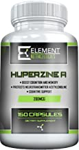 Sponsored Ad - HUPERZINE A (200mcg x 150ct) by Element Nutraceuticals - Supports Healthy Cognitive Function