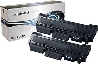 Alphaink AI-KIT2-PFMLT-D116L Kit 2 Toner compatibili per Samsung (3000 copie) Xpress SL-M2625D SL-M2626 SL-M2675F SL-M2675FN SL-M2676 SL-M2825ND SL-M2825DW SL-M2826 SL-M2875FD SL-M2875FW SL-M2875ND SL-M2876