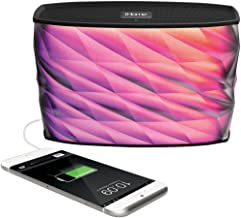 iHome iBT84 Portable Splashproof Color Changing 10 Hour Rechargeable Bluetooth Stereo..