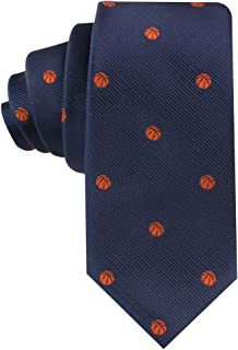 Sports Ties | Woven Neckties | Men | Work Ties for Him | Bday Guys