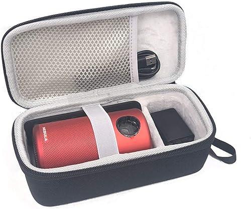 Esimen Hard Travel Case for Nebula Capsule Smart Mini Projector by Anker and Remote Control USB Flash Drive Accessori...