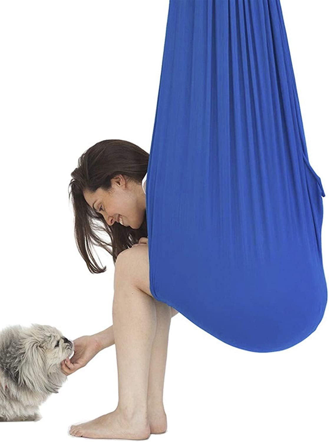 Bombing free shipping Max 63% OFF LICHUXIN Indoor Therapy Swing Snuggle for Cuddle C Hammock