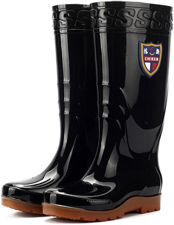 Hohe abriebfeste Regenstiefel   Männer Regenstiefel   Stiefel   Wasserstiefel   Rindfleisch Sehnen Stiefel   Wasser Schuhe B07BDMFP9S  König der Menge