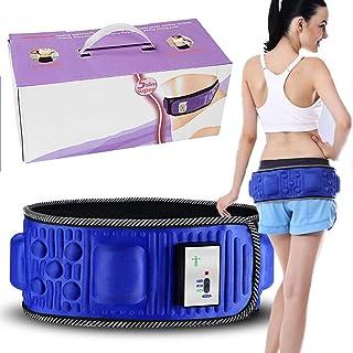 Electric Slimming Belt Fat Burning Belt Belly Fat Burner Loss Weight Vibrating Body Shape Slimming Exercise Massage Fitnes...